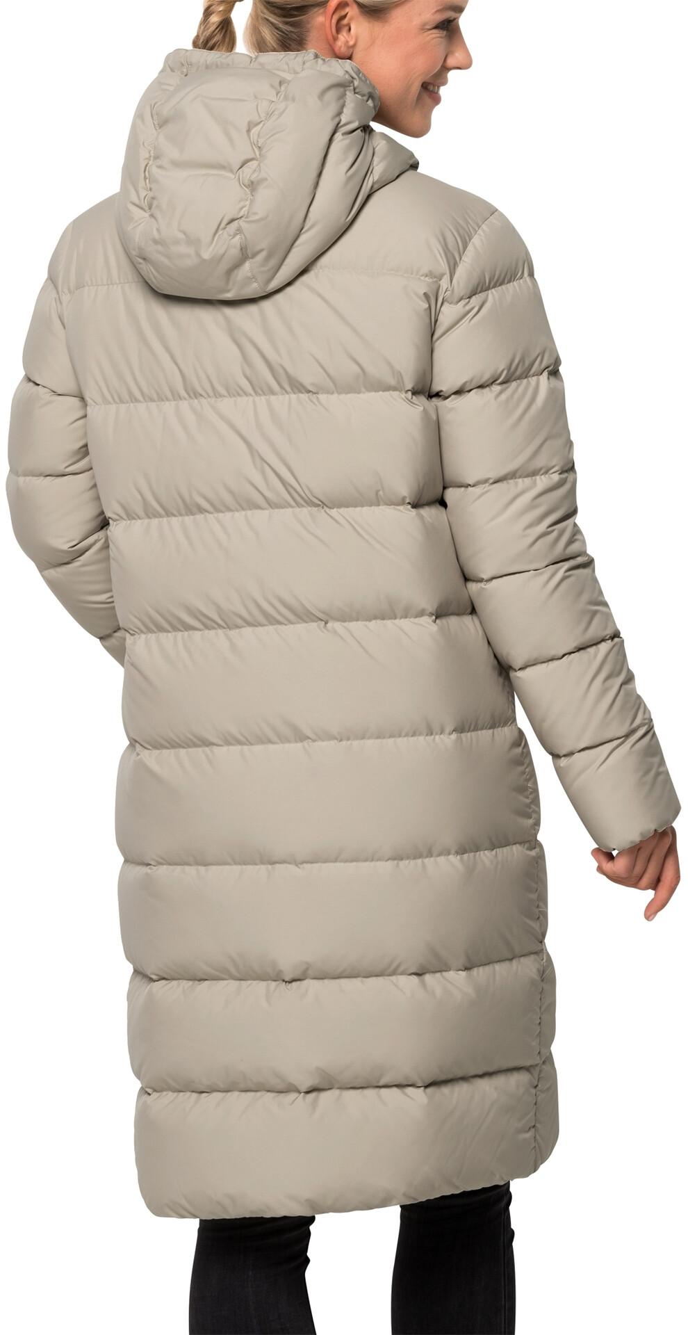 Jack Wolfskin Crystal Palace Coat Damen dusty grey